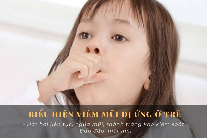 Viêm mũi dị ứng ở trẻ em và 4 điều nên biết